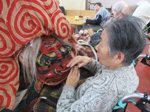 白山神社 獅子舞