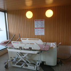 2階の入浴機器が新しくなりました