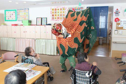 千島白山神社 獅子舞