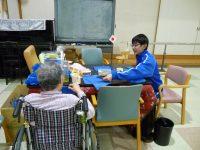 松倉中2年生の職場体験学習
